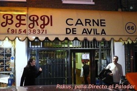 Restaurante Berdi en Madrid