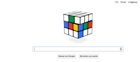 Google festeja los 40 años del cubo Rubik