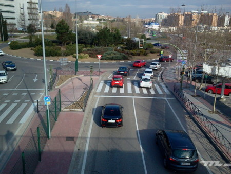 Circulacion Coches Madrid