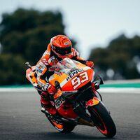 """Las lágrimas de Marc Márquez tras acabar séptimo en su vuelta a MotoGP: """"Al entrar al box me he derrumbado"""""""