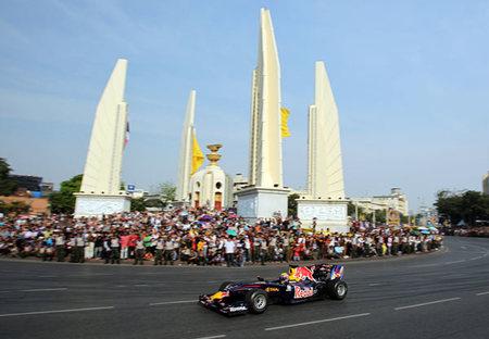 Tailandia quiere un hueco en el calendario de la Fórmula 1 en 2014