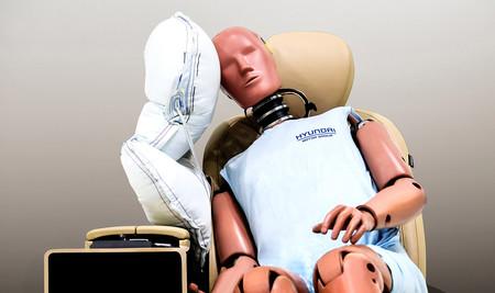 El nuevo airbag lateral central de Hyundai