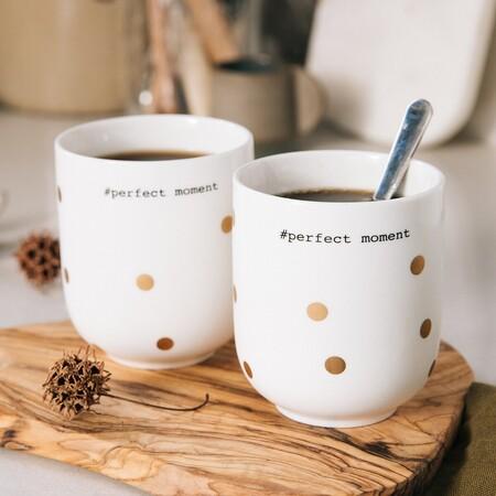 Lote de 4 tazas de café
