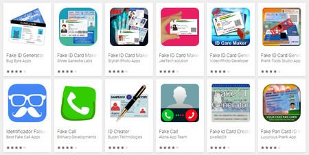 Google Play prohíbe las aplicaciones que permitan falsificar carnés, tarjetas, pasaportes o diplomas