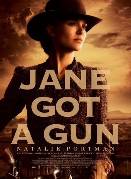 Portman en el póster de Jane Got A Gun