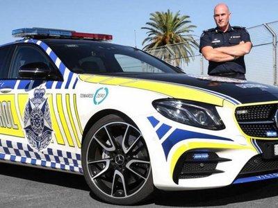 La Policía australiana estrena nueva arma de 401 CV: el Mercedes-AMG E43