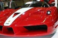 Ferrari FXX en Bolonia