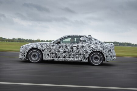 Bmw Serie 2 Coupe 2021 Teaser 035