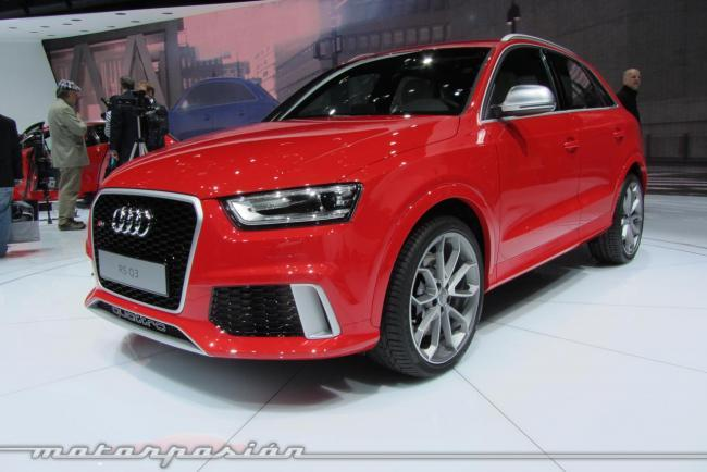 Audi RS Q3 Ginebra frontal