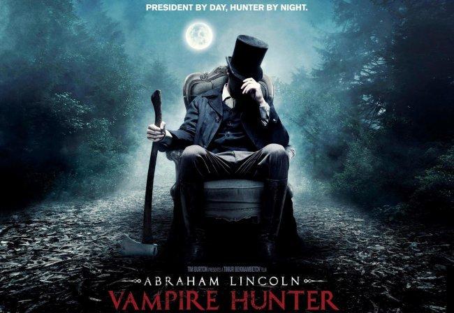Imagen del cartel de Abraham Lincoln: Cazador de Vampiros