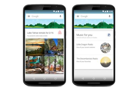 Google Now se potencia con el acceso a aplicaciones de terceros
