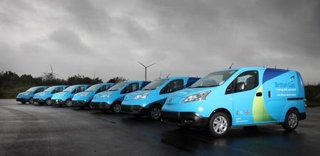 28 furgonetas eléctricas Nissan e-NV200 comienzan un periodo de pruebas en Reino Unido