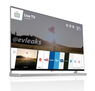 Televisores LG con webOS, evleaks filtra una posible imagen de como serán