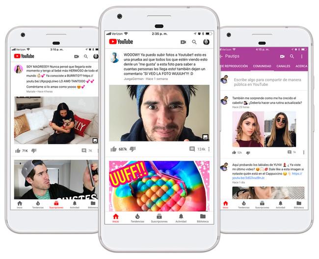 Youtube Comunidad Es