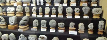 Hay un museo en Japón dedicado única y exclusivamente a piedras con caras humanas