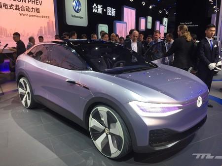 Así es el Volkswagen I.D. Crozz, el prototipo de SUV eléctrico 4x4 presentado en Shanghai