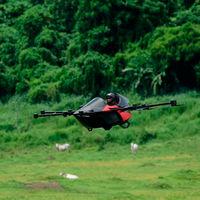Parece un dron, pero es el coche volador más pequeño del mundo y se llama Koncepto Millenya