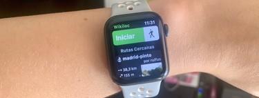 Wikiloc ya está disponible para el Apple Watch: todas las rutas en tu muñeca