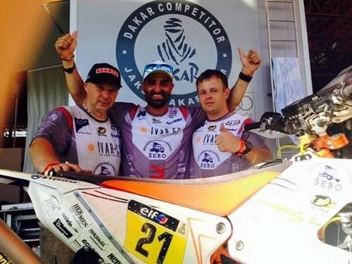 Dakar 2015: Salta - Termas de Río Hondo, etapa 11