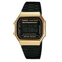 Este reloj de pulsera Casio en negro y dorado ahora sólo cuesta 46,27 euros en Amazon. Envío gratis