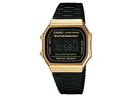 Este reloj de pulsera Casio en negro y dorado ahora sólo cuesta 46 ... 58c6e6e71f75