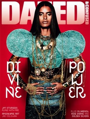 Lakshmi Menon en la portada de Dazed & Confused de abril