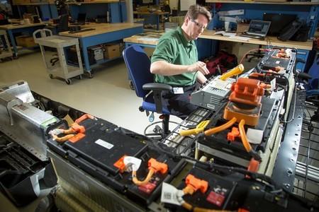 laboratorio de baterías GM