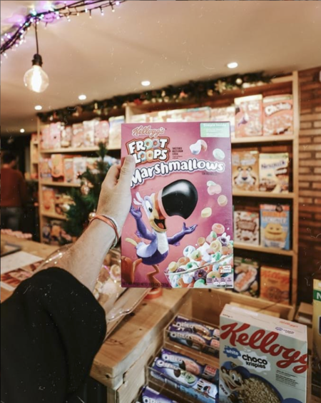 Cereal Hunters Cafe Cajas