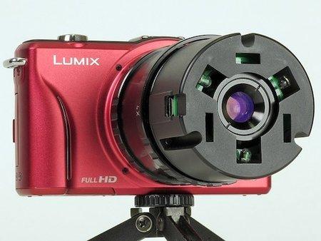 Nanoha: Prototipo de lente macro para Micro Cuatro Tercios
