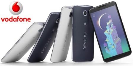 Precios Nexus 6 con Vodafone