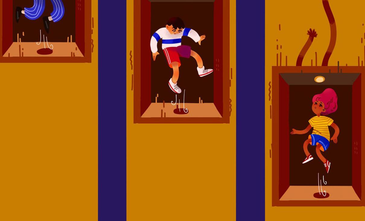 ¿Se puede sobrevivir a una caída de ascensor si saltas en el momento adecuado?