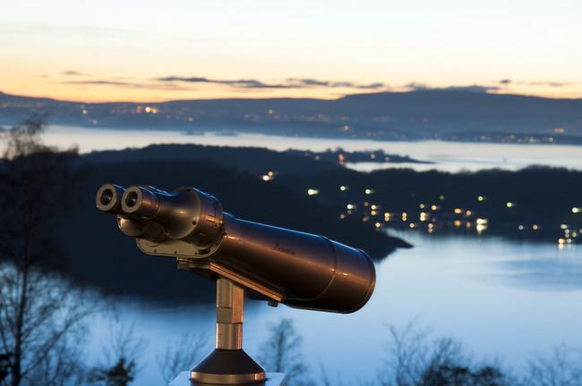 Vistas desde el Parque Ekenberg Oslo