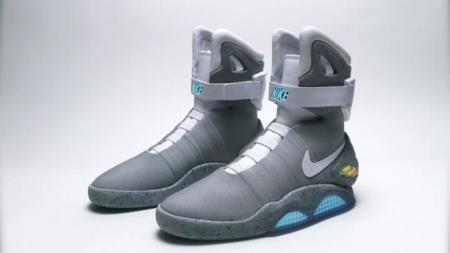 Nike dice que las zapatillas autoajustables de Regreso al futuro verán la luz en 2015