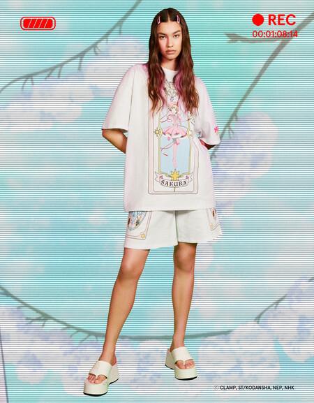 Bershka activa nuestra nostalgia al máximo con una nueva colección con Sakura como protagonista