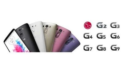 LG tiene su futuro planeado y registra las marcas G3, G4, G5, G6, G7, G8 y G9