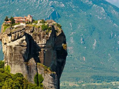 Meteora, los monasterios griegos que están casi en el cielo