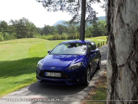 Ford Focus ST, presentación y prueba en Niza (parte 2)