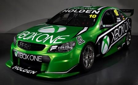 Xbox One viste el Holden de Mattias Ekström y Andy Priaulx para Bathurst