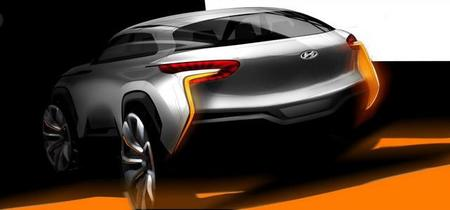 Hyundai Intrado Concept Car, con pila de hidrógeno