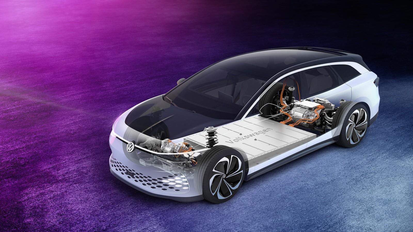 Foto de Volkswagen ID. Space Vizzion Concept (9/32)