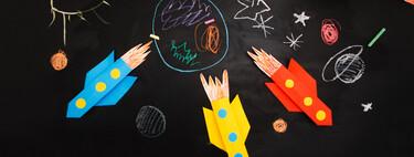 27 manualidades inspiradas en el espacio, las estrellas y el universo para hacer con los niños