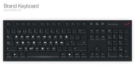 Brand keyboard