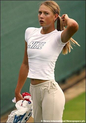 Maria Sharapova es la deportistas más sexy de la década