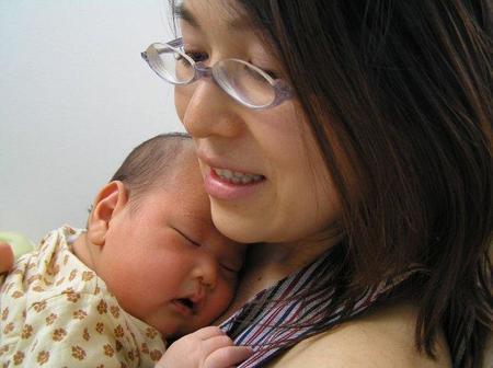 El cerebro de la madre crece después del parto