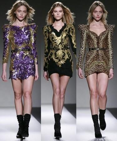 Balmain Otoño-Invierno 2010/2011 en la Semana de la Moda de París