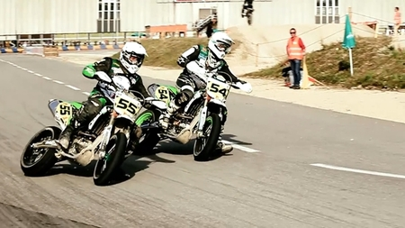 Campeonato suizo de supermotard 2012 con el Team Green