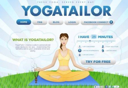 Yogatailor: las clases de yoga a cualquier hora y en tu casa