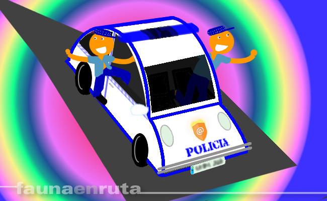 fauna en ruta: policías que son Serebro