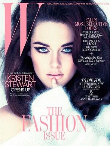 Kristen Stewart ¿de dónde has sacado el glamour de W magazine?