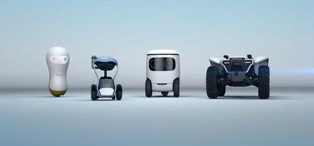 Cuatro robots Honda para el CES 2018: apuestas en movilidad e inteligencia artificial